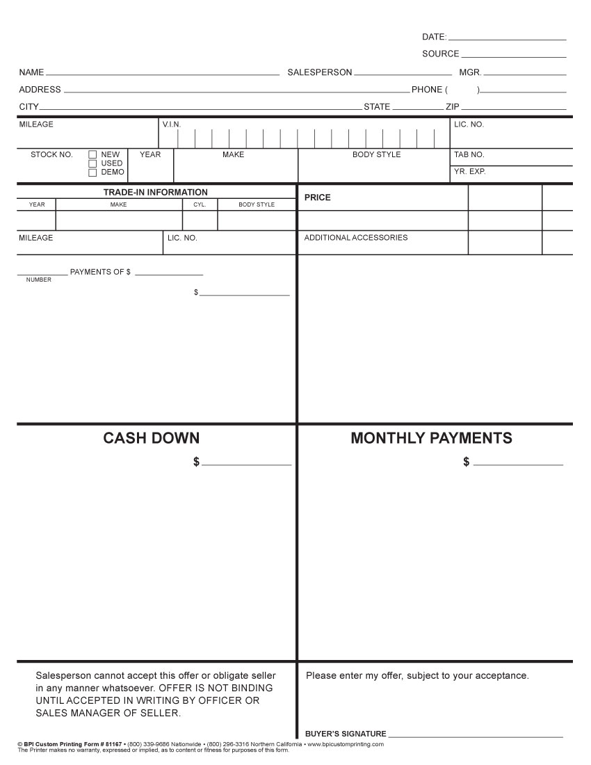 4 Square Worksheet BPI Custom Printing – Four Square Worksheet