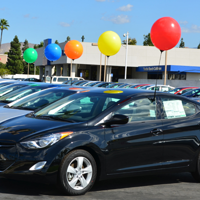 Car Dealership Reusable Balloons