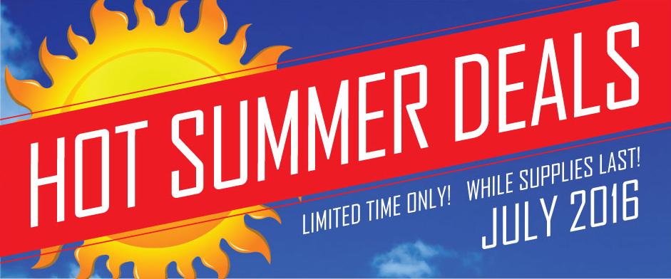 BPI Hot Summer Deals!